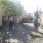 پروژه آسفالت خیابان اصلی بانمزاران پس از ماهها پیگیری و ممارست به سرانجام رسید