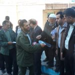 مراسم بدرقه نیروهای جهادی شهدای شهرستان لنجان