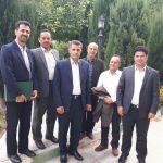 دیدار اعضا شورای اسلامی و شهردار ریجاب با استاندار